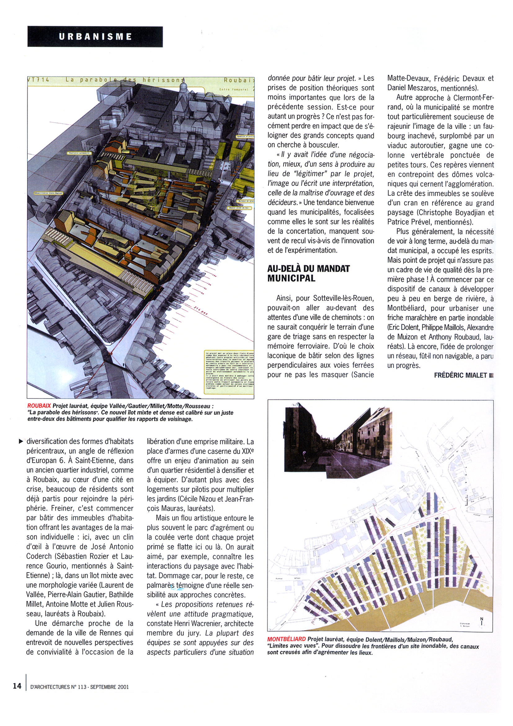 D'architecture N°113 02